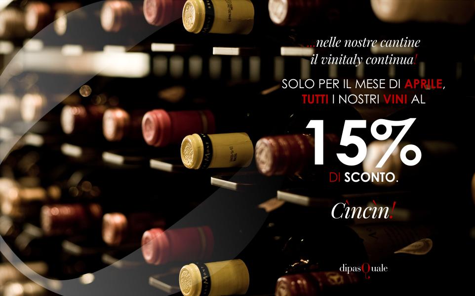 Sconto Offerta 15 % Vini Siciliani Cantine
