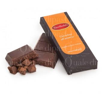 Cioccolato modicano all'arancia