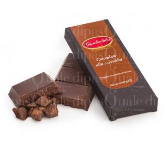 cioccolato modicano alla carrubba