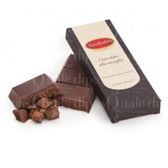 cioccolato modicano alla vaniglia
