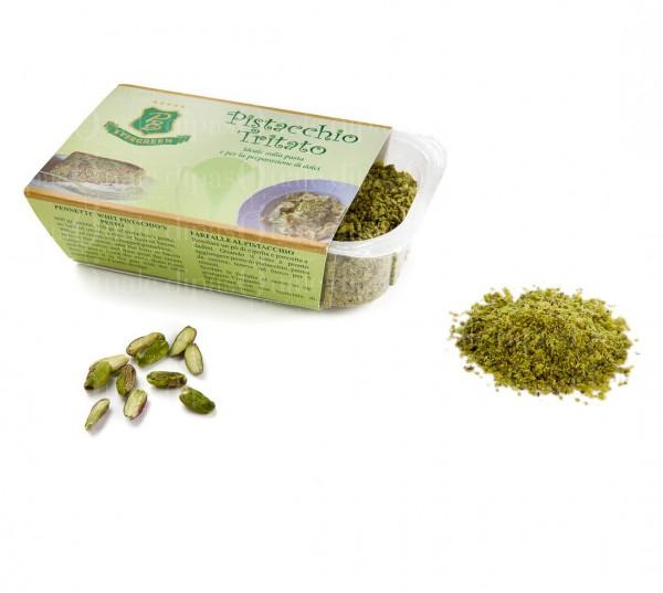 Tritato di pistacchio verde di bronte dop for Pianta pistacchio prezzo