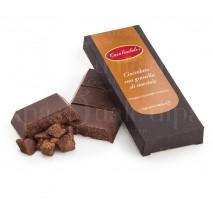 Cioccolato modicano con granella di nocciola